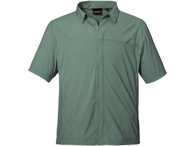 Schöffel Hohe Reuth Shirt Men, lily pad